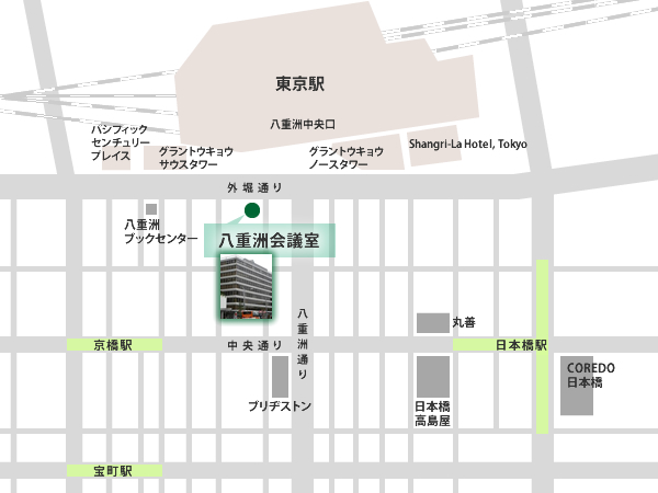東京駅周辺マップ